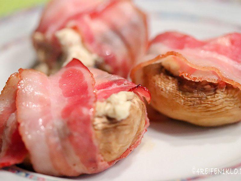 Bacon-Feta-Champignons