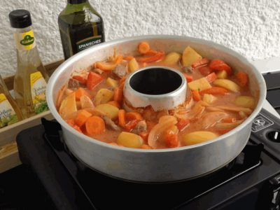 Kartoffel-Schaschlik-Topf