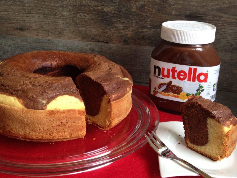Nutella-Kokos-Kuchen