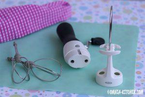 OXO-Handmixer Einzelteile