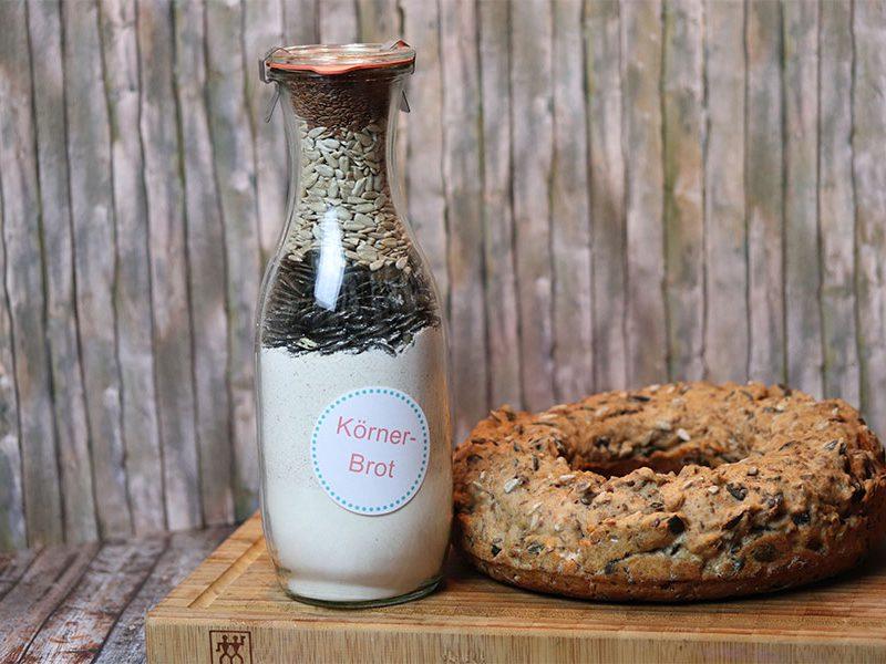 DIY-Backmischung: Körner-Brot